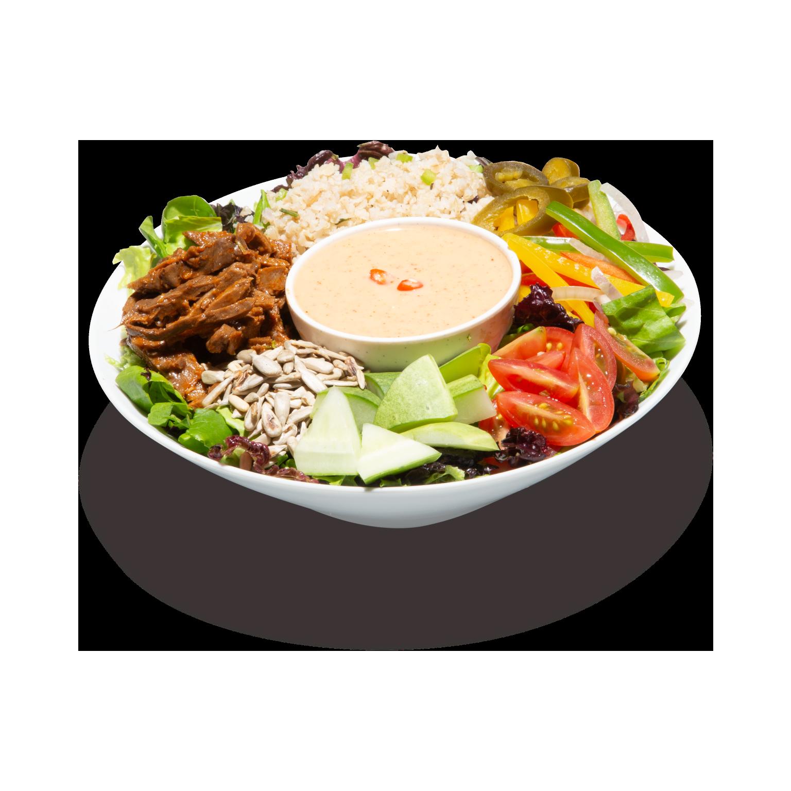 Tahini Protein Bowl