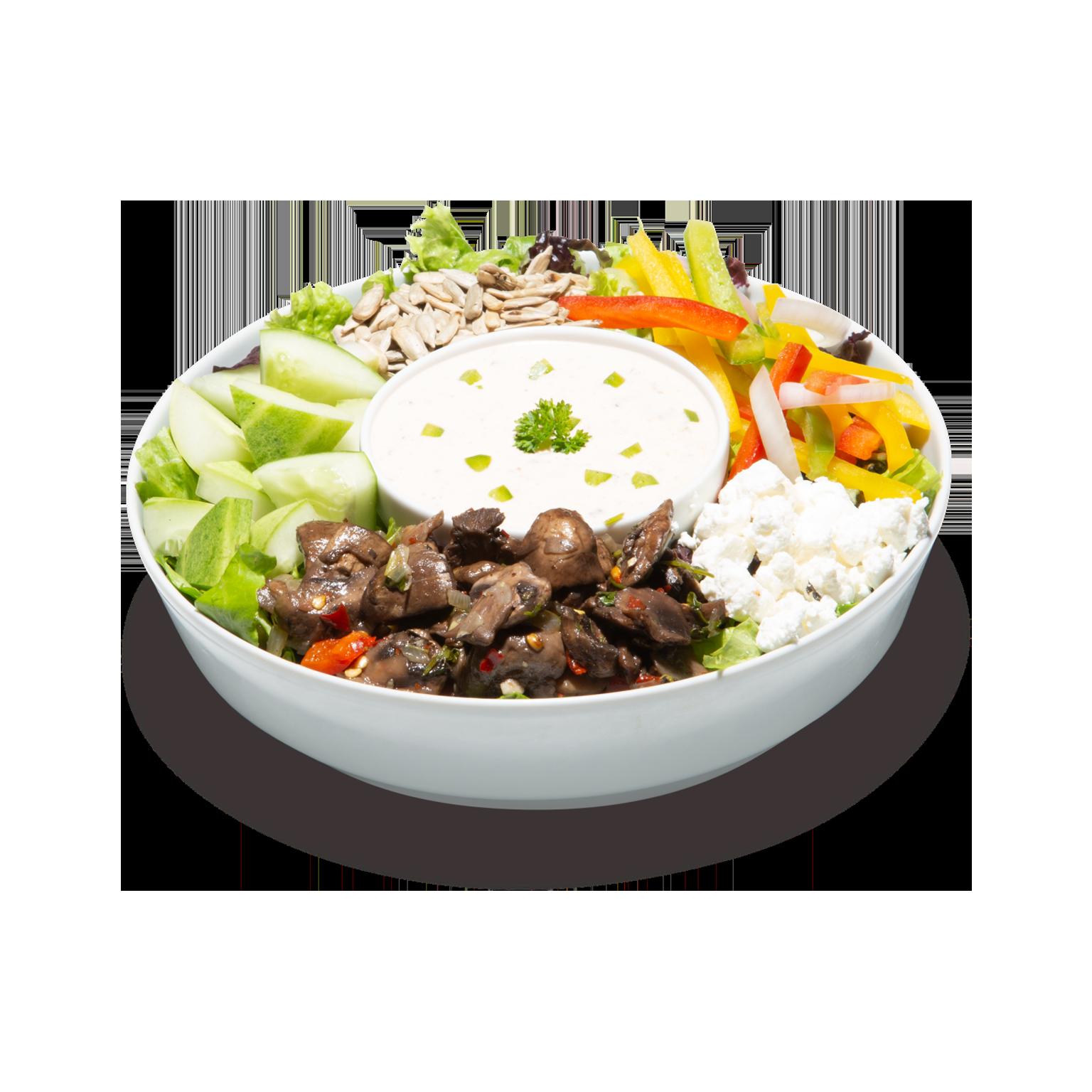 Tex-Mex Ranch salad
