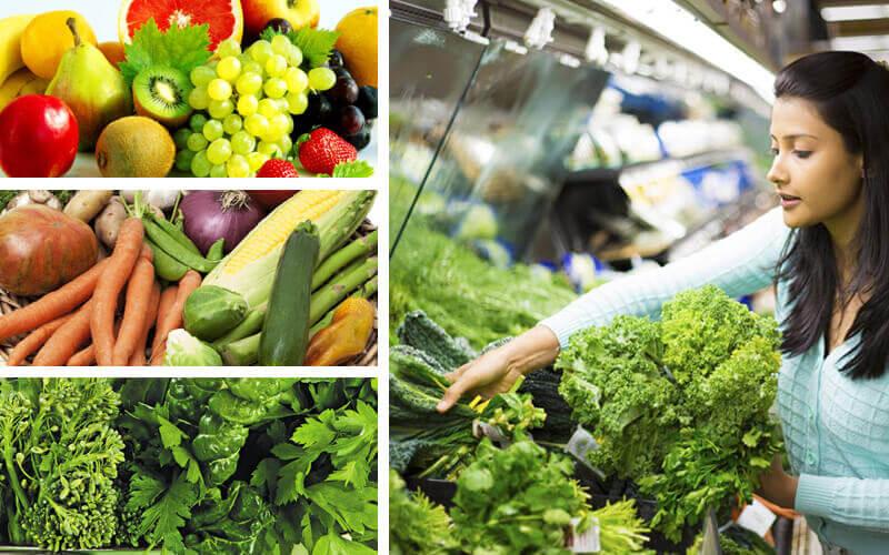 Organic vegetables in Hyderabad