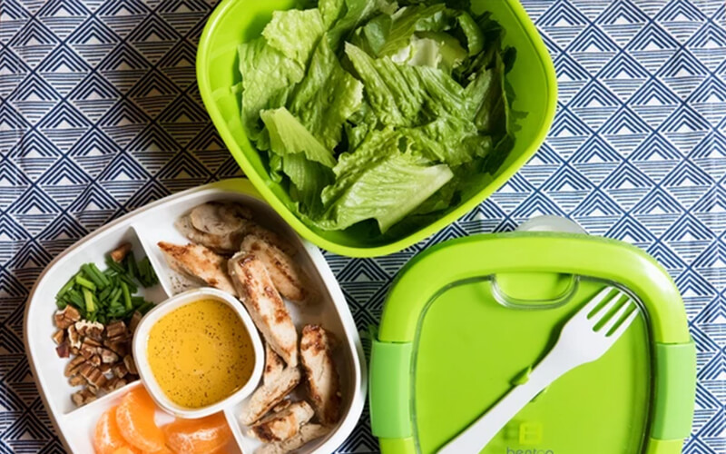 simple lunch pack recipes with organic greens and fresh vegetables