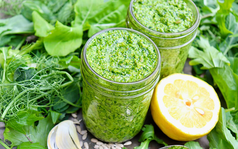 Indulge In Healthy Recipes of Leafy Greens