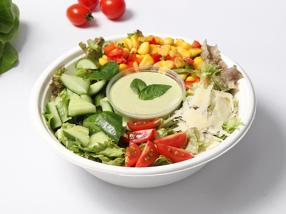 Pesto Cesar Salad