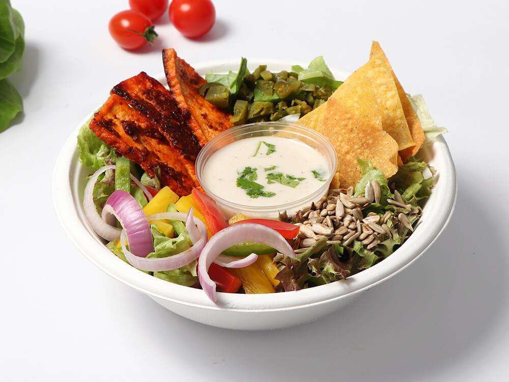 Tofu Summer Salad