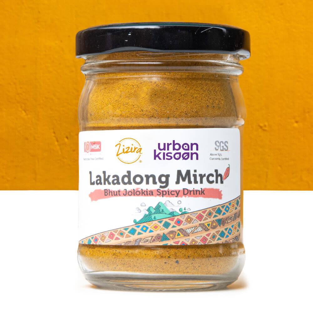 Lakadong Mirch - Bhut Jolokia Spicy blend from Meg